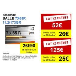 BALLE 7X65 R 11,2g/173gr X20