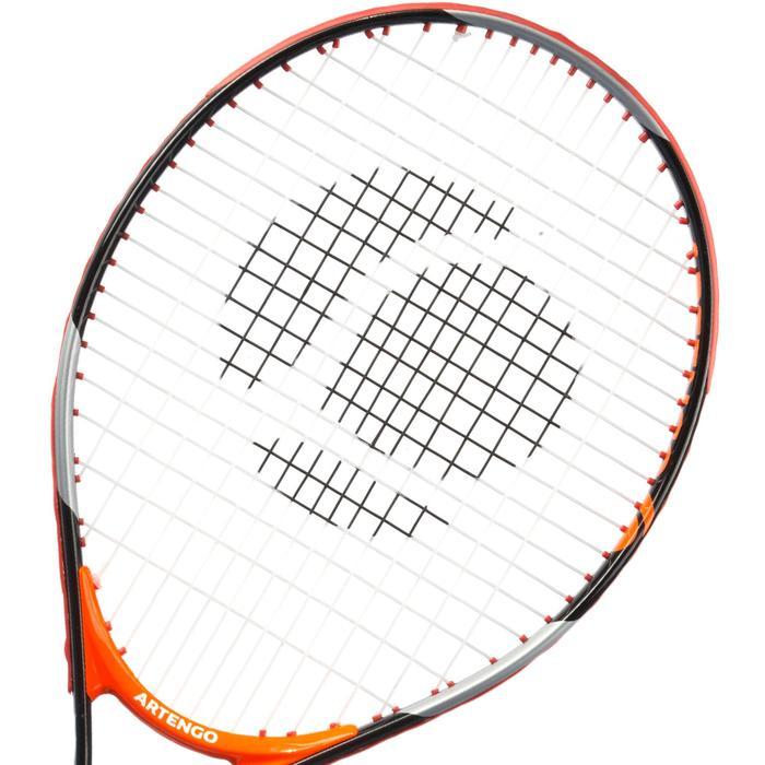 Tennisracket kinderen TR130 25 zwart/oranje