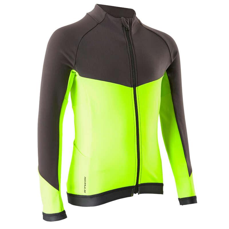 RĘKAWICZKI DLA DZIECI Odzież rowerowa - Koszulka długi rękaw 900 JR BTWIN - Odzież rowerowa
