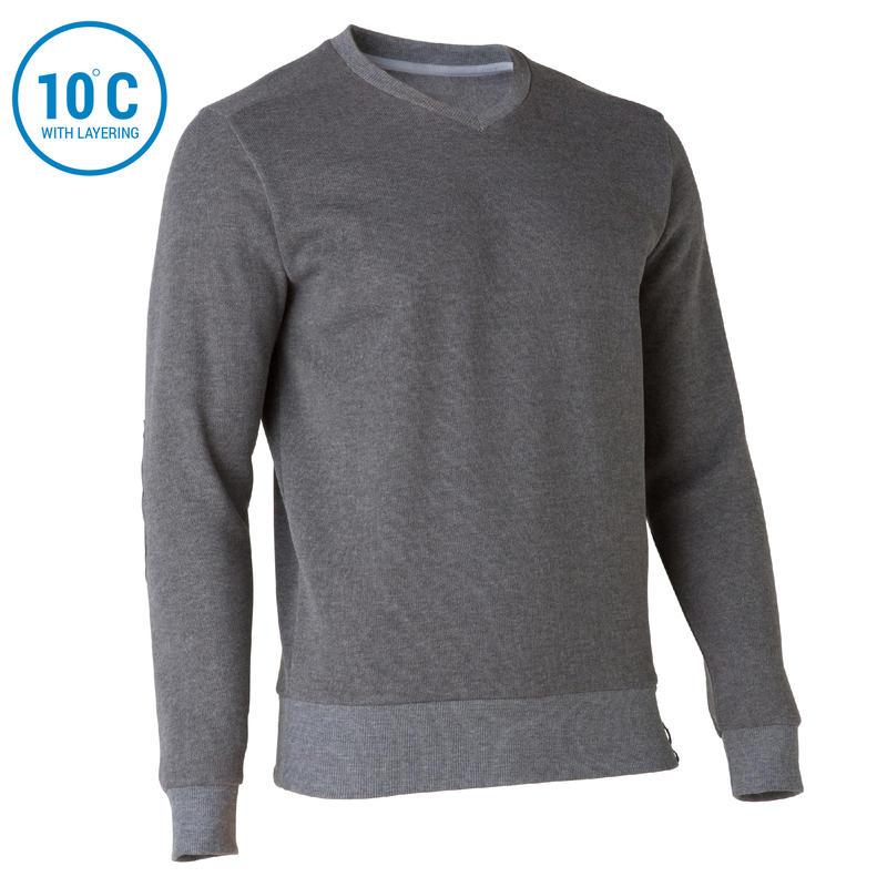 Men's Pullover NH150 - Grey