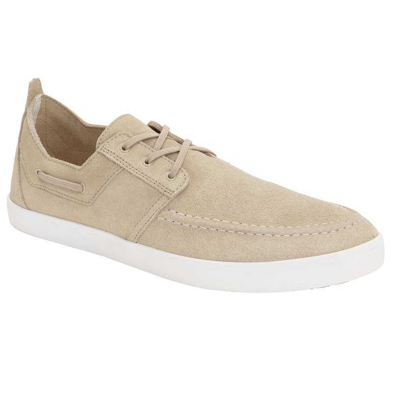 CRUISING SHOES MAN Sailing - M Shoes Sailing 300 - Beige TRIBORD - Sailing