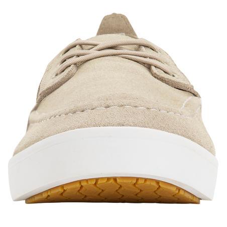 Men's Sailing Non-Slip Boat Shoes 300 -  Beige