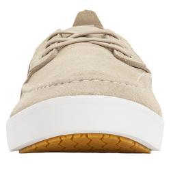 Men's Non-Slip Boat Shoes Sailing 300 - Beige