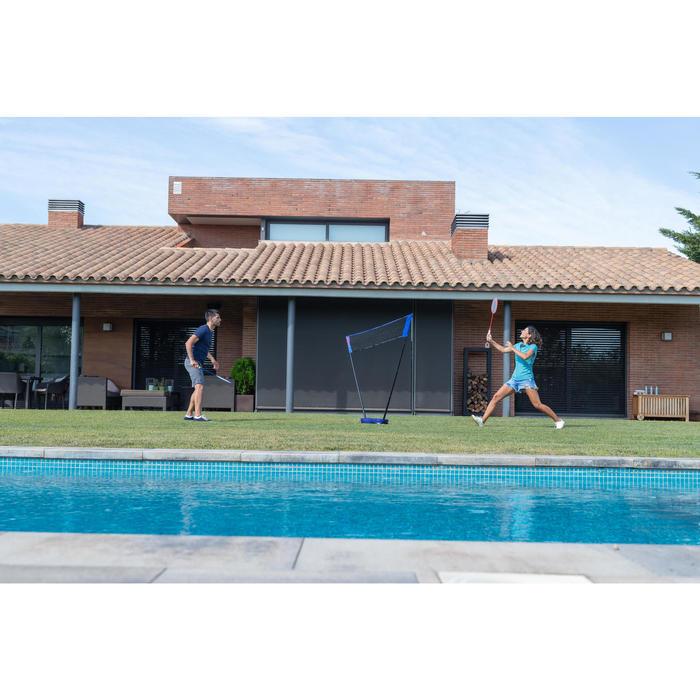 Badmintonset Easy Set 3 M blauw