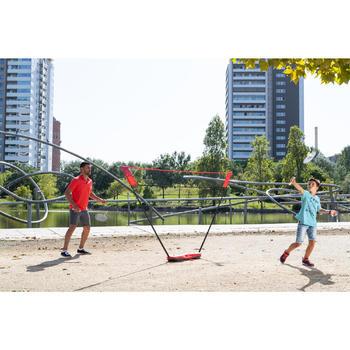 Badmintonset Easy Set 3 M rood