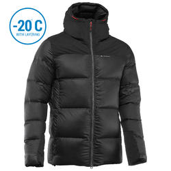 Men's Mountain Trekking Down Jacket - TREK 900 DOWN - black
