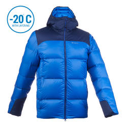 Men's Mountain Trekking Down jacket - TREK 900 DOWN - blue