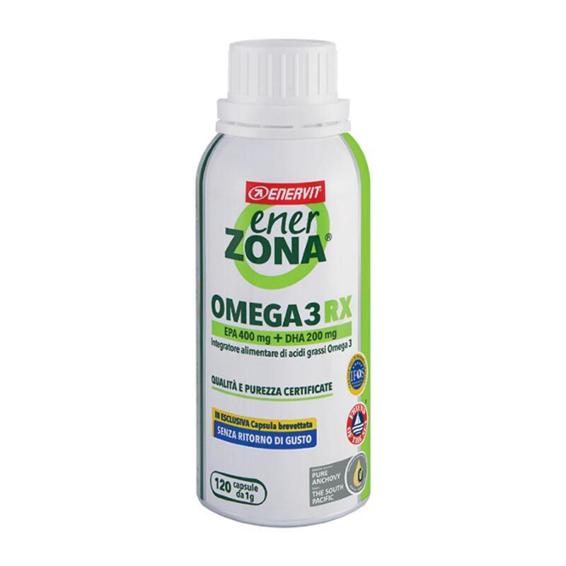 Omega 3 RX Olio di pesce Nuova capsula senza ritorno 120 capsule da 1g