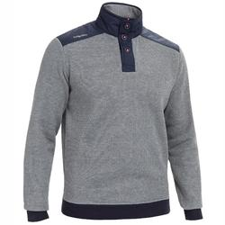Segel-Pullover Sailing 100 Herren grau