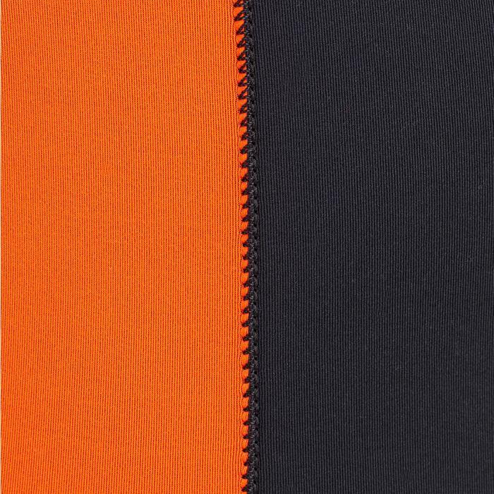 Neoprenanzug Dinghy 500 Jolle 3/2mm geklebt/genäht Herren schwarz/orange