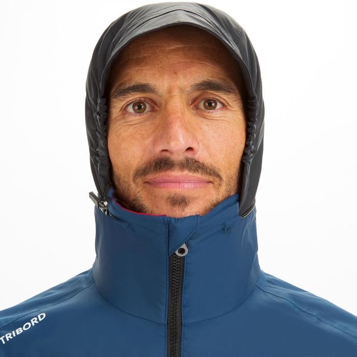 Men's Sailing 100 waterproof and windproof sailing anorak - navy blue