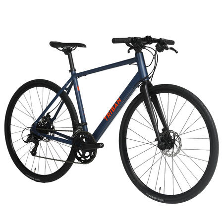 Triban Rc120 Disc Brake 8spd Road Bike - Dark Blue