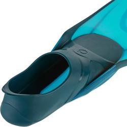 成人款浮潛蛙鞋SNK 500-軍藍色
