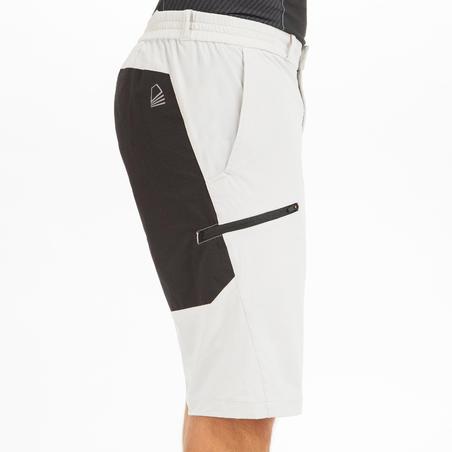 Men's Sailing 500 sailing shorts - light grey