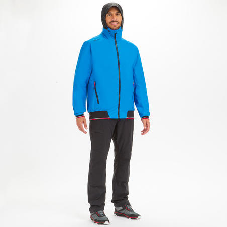 MEN'S SAILING YACHT RACING ANORAK RACE 100 - BLUE