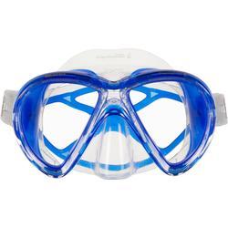 Máscara de buceo X-vu Liquid Skin cristal y azul de Mares