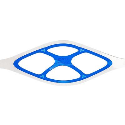 Masque de plongée sous-marine X-vu Liquid Skin cristal et bleu de Mares