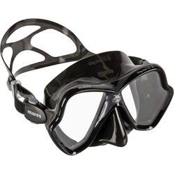 Duikbril voor diepzeeduiken X-Vision Liquid Skin zwart/grijs