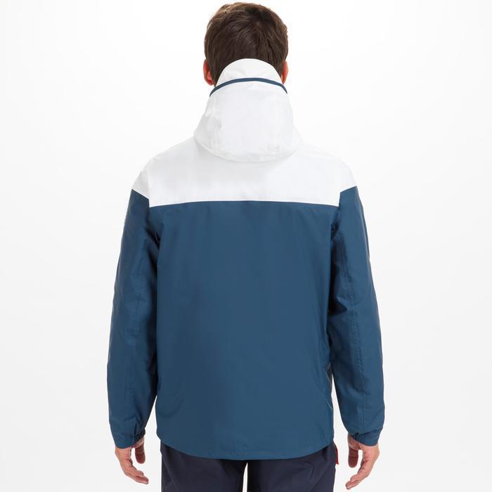 Waterdichte zeiljas voor heren Sailing 100 blauw/wit