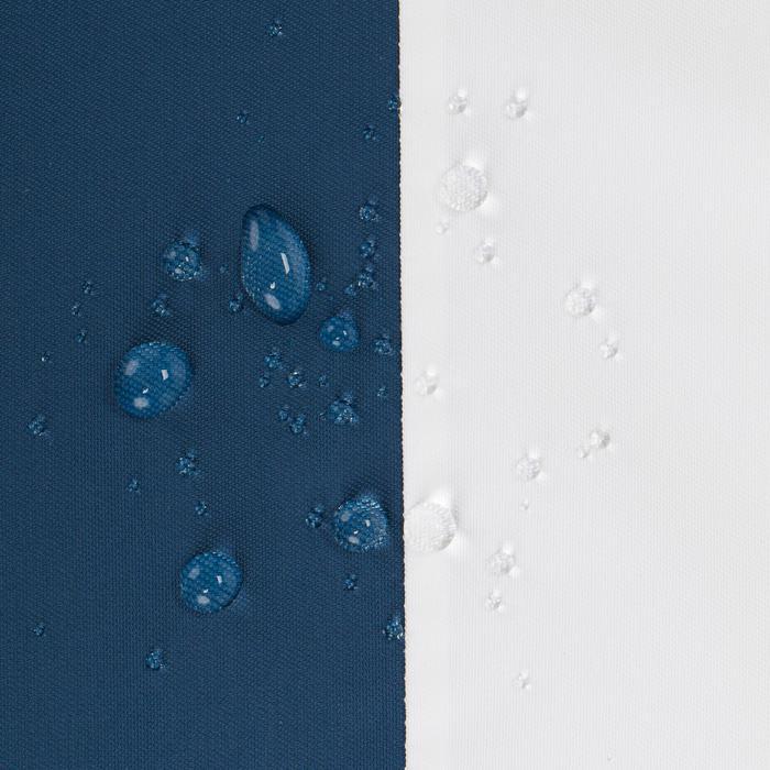 Waterdichte zeiljas heren Sailing 100 blauw/wit