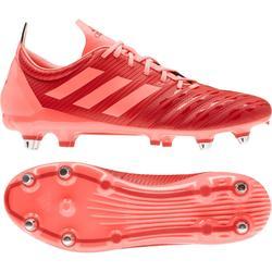 Hybride rugbyschoenen voor volwassenen Adidas Malice SG drassig terrein, oranje