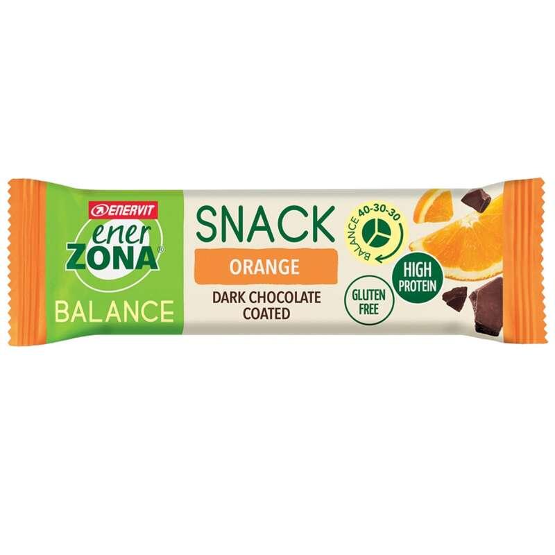 BARRETTE, GEL E RECUPERO Alimentazione - barretta snack orange coated ENERZONA - Alimentazione