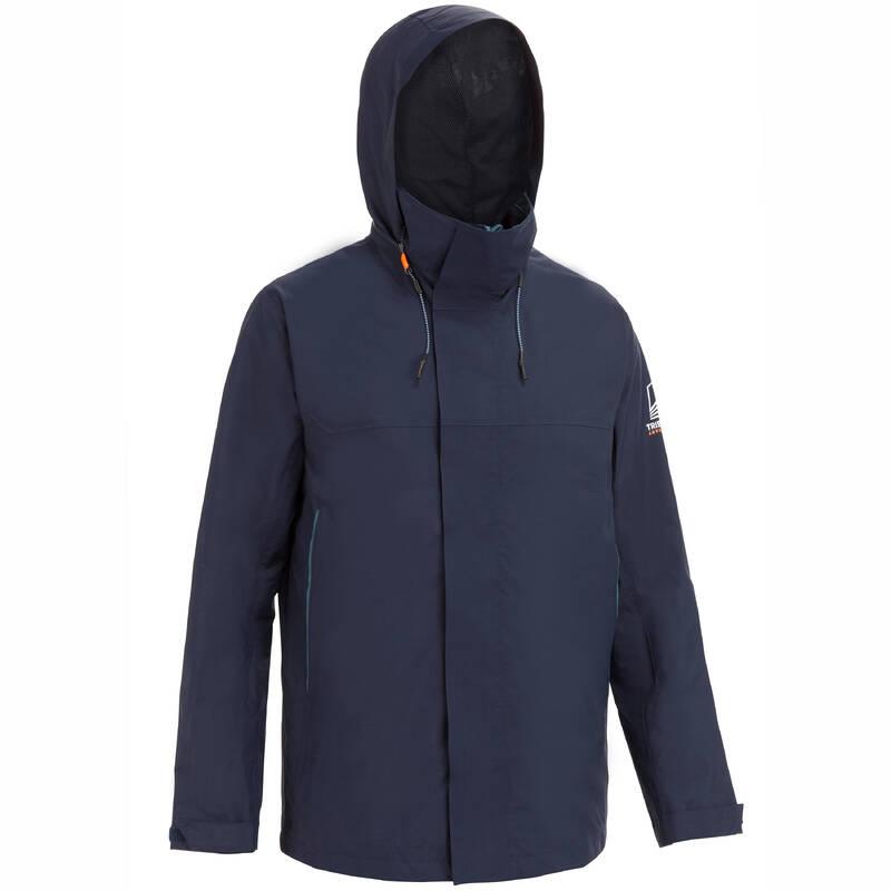 PRÁZDNÉ Jachting - BUNDA SAILING 300 MODRÁ TRIBORD - Jachtařské oblečení