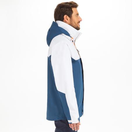 Veste imperméable de voile Homme SAILING 300 Bleu banc