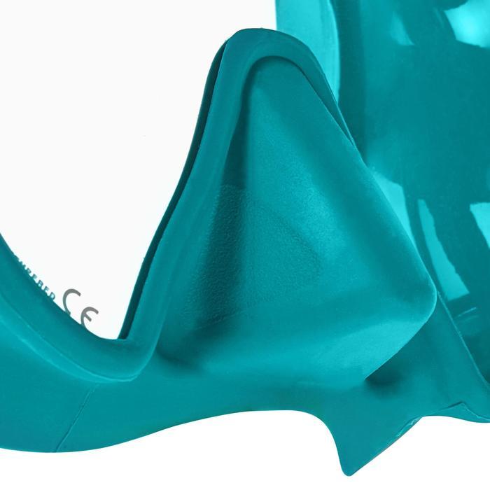 Masque plongée sous-marine Maxlux S Turquoise