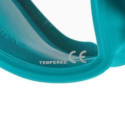 Duikbril voor diepzeeduiken Maxlux S turquoise