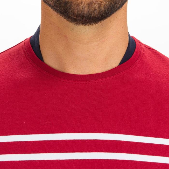 T-shirt manches longues de voile homme SAILING 100 Bordeaux
