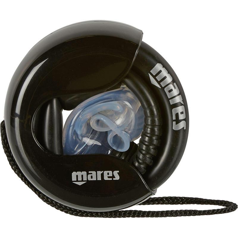 Tuba de Plongée @ arobase pliable noir Mares