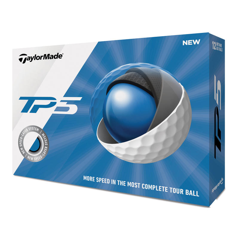 Golf ball TP5 x12 White