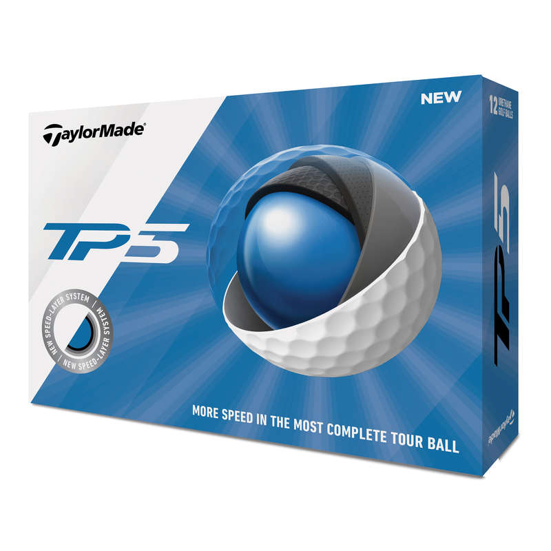 GOLF LABDÁK, KESZTY#K, TEEK Golf - Golflabda TP5, 12 db, fehér TAYLORMADE - Golf