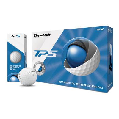 Ballr de golf TP5 x12 Blanc