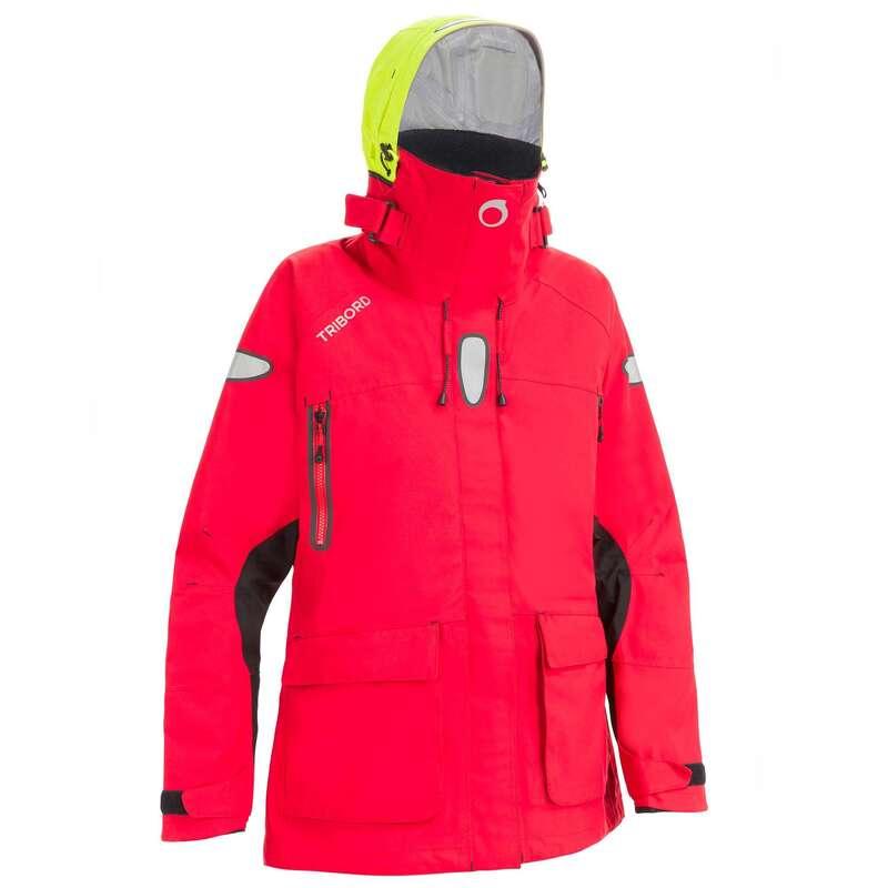 Férfi offshore vitorláskabát Vitorlázás, hajózás, dingi - Női kabát hajózáshoz Offshore TRIBORD - Férfi vitorlás ruházat, cipő