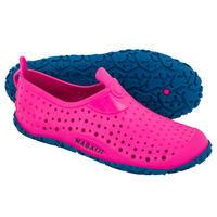 Girls' Pool Shoes Aquadots 100 - Pink