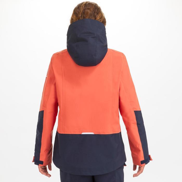 Veste imperméable coupe-vent de voile Femme SAILING 300 Rouge clair