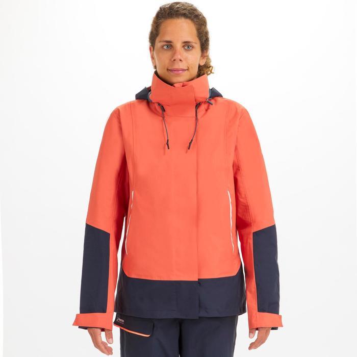 Zeiljas voor dames Sailing 300 lichtrood
