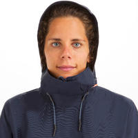 Women's sailing waterproof jacket SAILING 300 - Navy