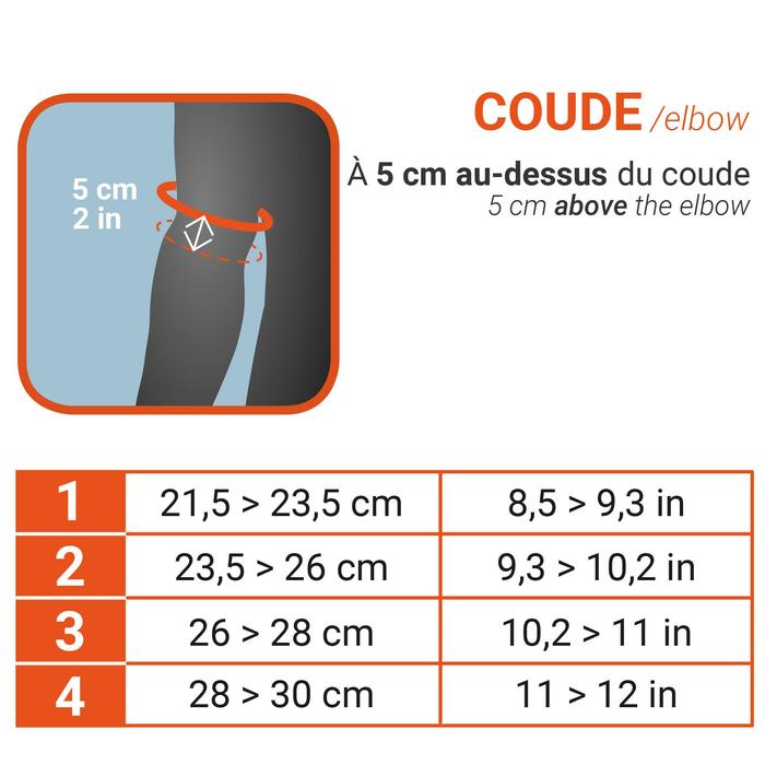 Elleboogbrace Mid 500 (zwart)