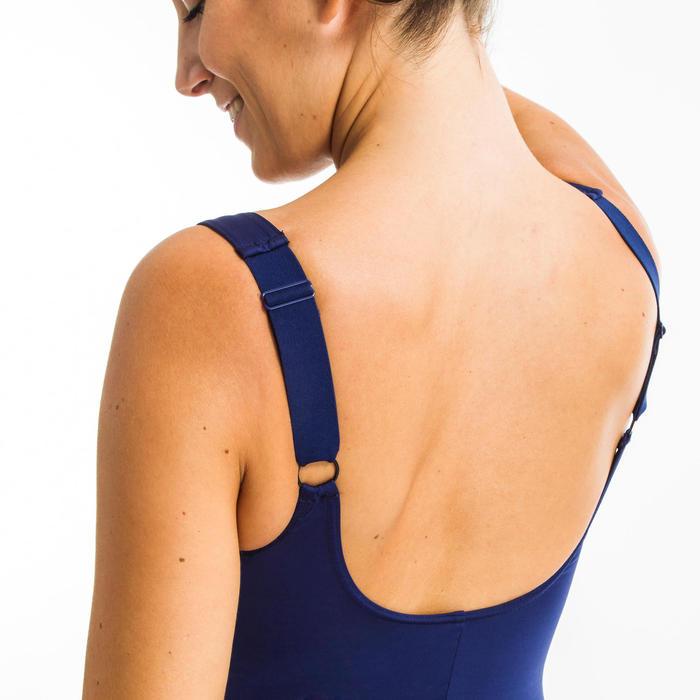 Corrigerend badpak voor aquagym Mary blauw
