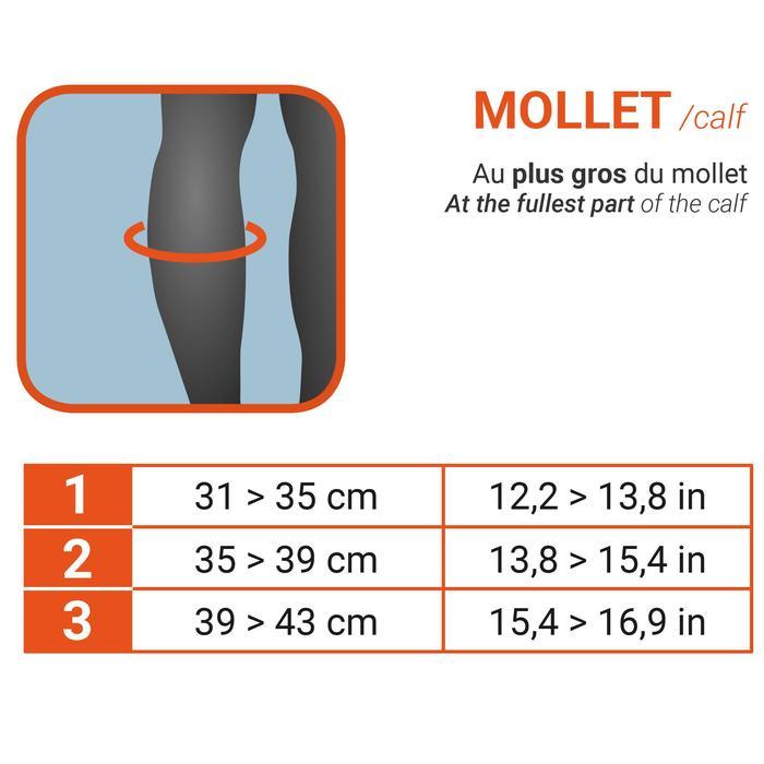 Molletière gauche/droite de maintien compressif homme/femme SOFT 300 noire - 175304