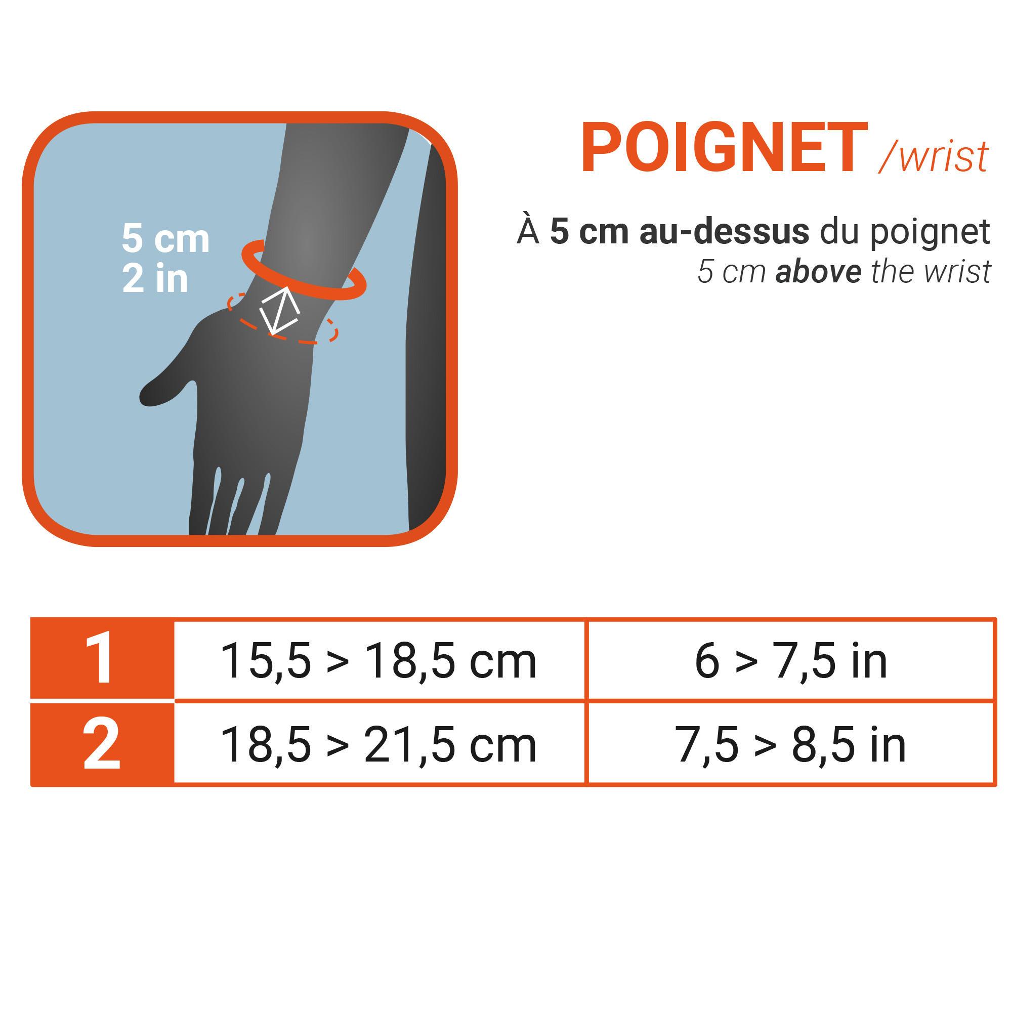 Protège poignet gauche/droite homme/femme RENFORCÉ 700 noir