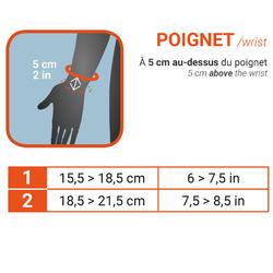 Poignet de maintien compressif gauche/droite pour homme/femme SOFT 100 noir