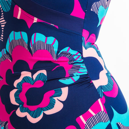 Women's Aquafitness One-Piece Body-Sculpting Ika swimsuit - Pink
