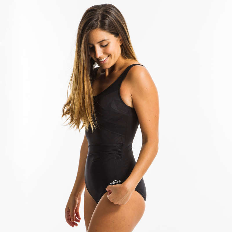 AQUAGYM AQUABIKE SWIMSUITS/MATERIAL All Watersports - Women's Karli swimsuit - Black NABAIJI - All Watersports