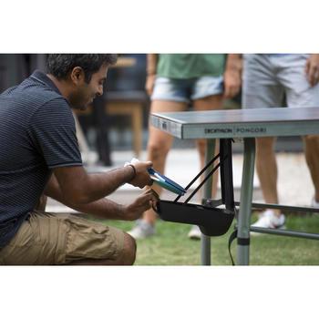 Afneembare bathouder voor tafeltennistafel zwart