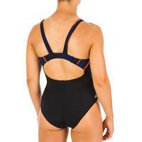 Women's one-piece chlorine-resistant swimsuit Kamiye - All Line