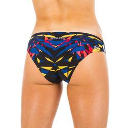 Bikinibroekje voor zwemmen dames Jana kal blauw/rood